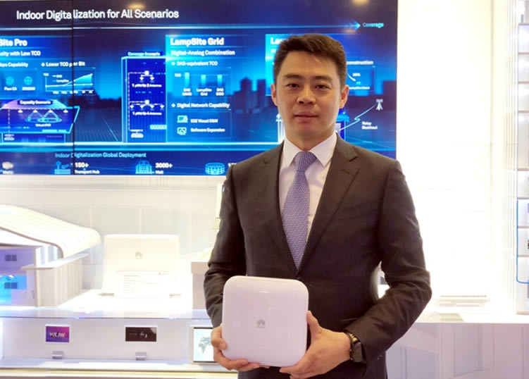 5G lampcell from Huawei
