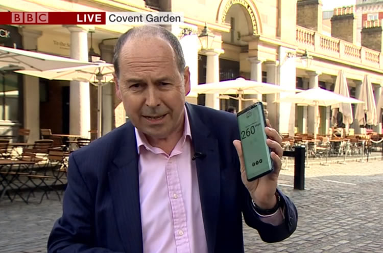 5G BBC newscast