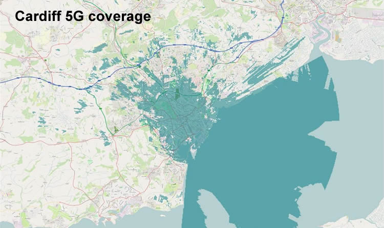 Cardiff 5G coverage