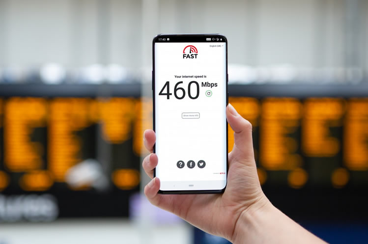 EE 5G speed at Waterloo