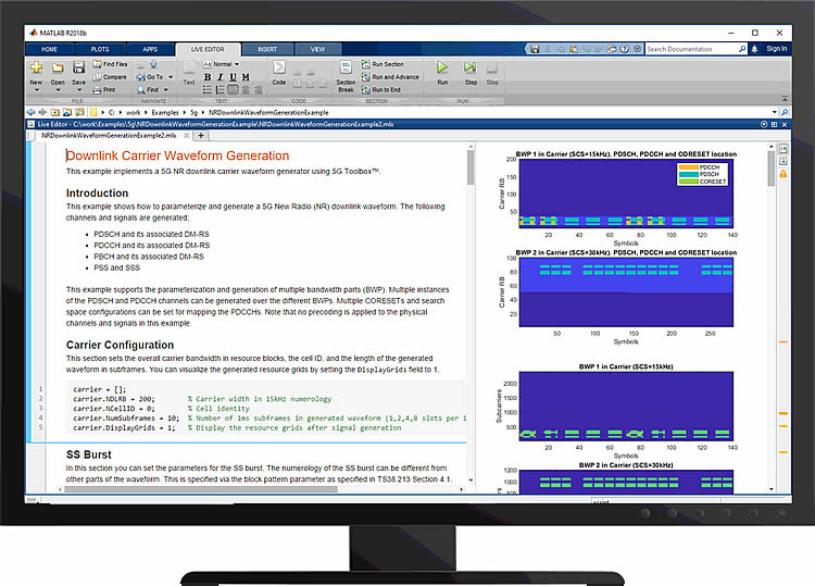 MathWorks' 5G Toolbox will help model and simulate 5G