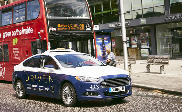 ALG and Oxbotica target self-driving services by 2021