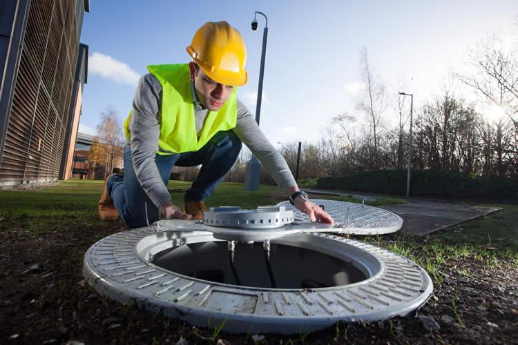 Vodafone  manhole