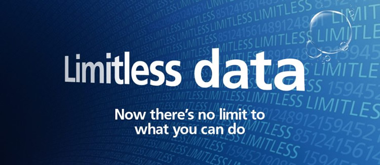 O2 unlimited data
