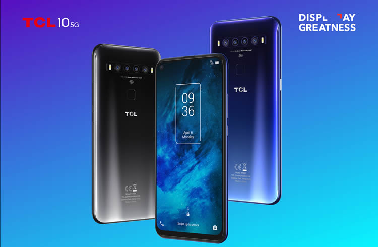 TCL 10 5G phone