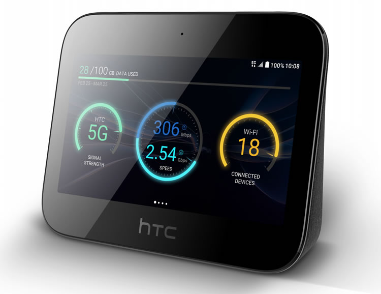 HTC's 5G Mobile Smart Hub is coming to EE this year