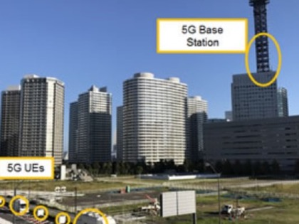 First ever large-scale 5G field trial conducted in Japan