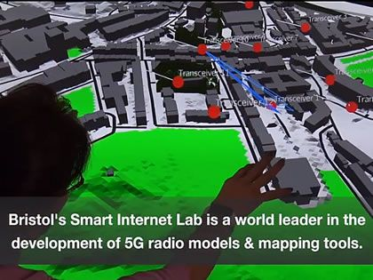 Bristol's digital twin offers world's most advanced 5G model