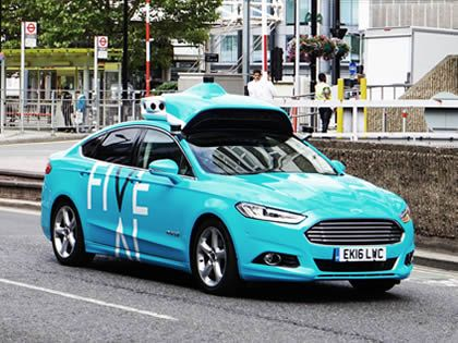 Data-gathering cars to hit London streets ahead of autonomous trials