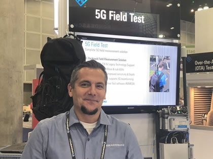 Rohde & Schwarz trials TV over 5G