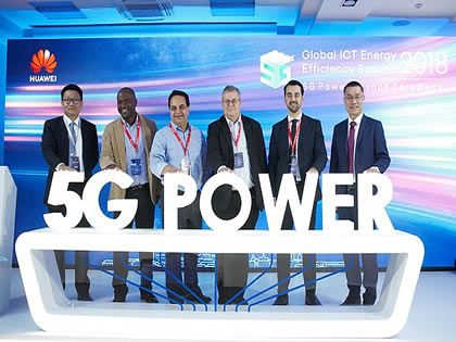 Huawei launches 5G Power series for simpler energy evolution