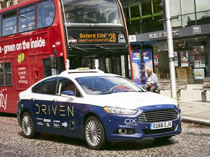 Addison Lee Group and Oxbotica target self-driving services by 2021