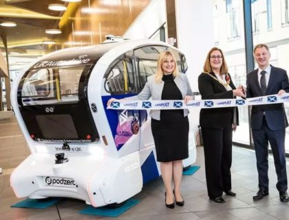 Transport Systems Catapult expands to Scotland