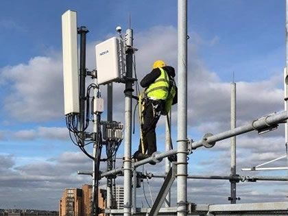 02 launches Massive MIMO 5G pilot in London