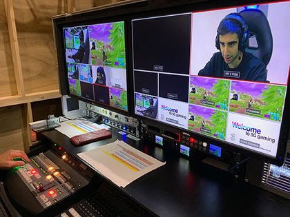 Three powered the world's first 4K 5G esports live broadcast
