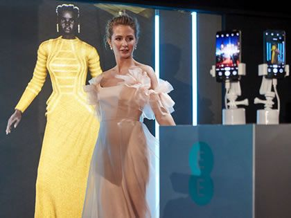 EE hails BAFTA night success for 5G