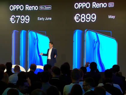 Oppo Reno 5G launched for €899 and coming exclusively to EE
