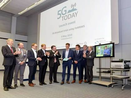 5G Broadcasting Field Trial Goes Live in Bavaria