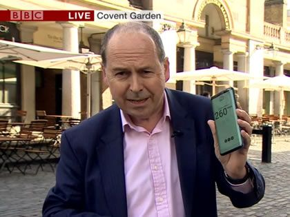 BBC just made the UK's first live broadcast over a public 5G network