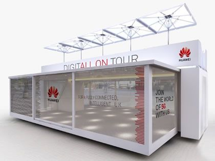 Huawei announces 5G consumer experience tour truck