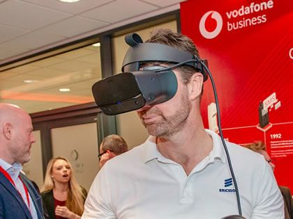 Vodafone Business Lounge opens for local businesses to experience 5G technology