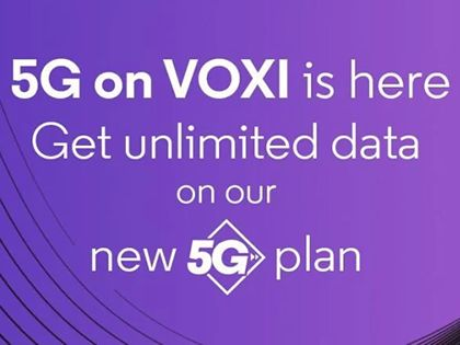 VOXI now offers 5G and it's in all the same places as Vodafone