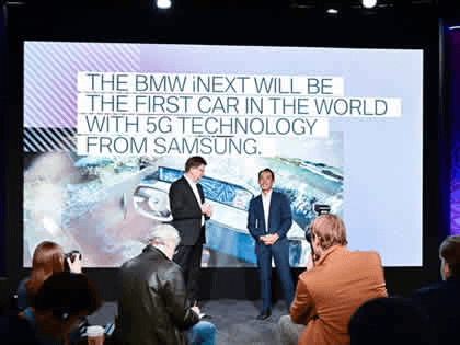 Samsung 5G Tech to Power BMW iNext