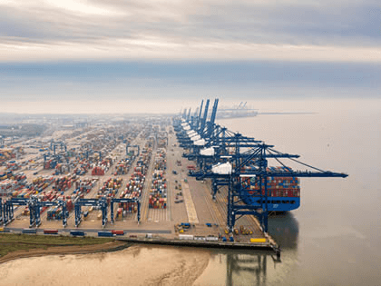 Port of Felixstowe selected for new 5G trial
