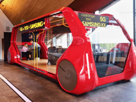 Samsung 5G bus launched in the UK to show off the technology's potential