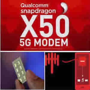 Qualcomm announces the first commercial 5G modem